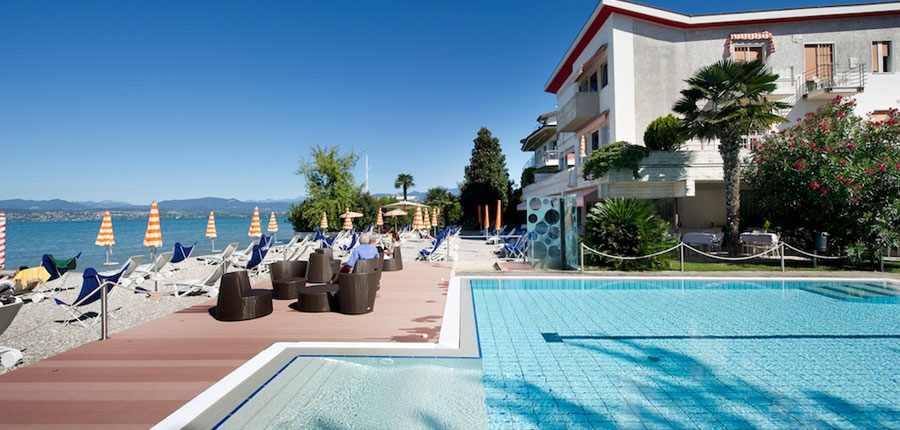 Du Lac Hotel, Sirmione, Lake Garda, Italy - Outdoor pool & beach.jpg